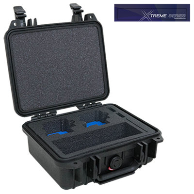 1200GC5D Case For Two GoPro® HERO® 5, HERO® 6, or HERO® cameras