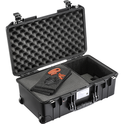 Pelican™ 1535 AIR TrekPak/Foam Hybrid Case